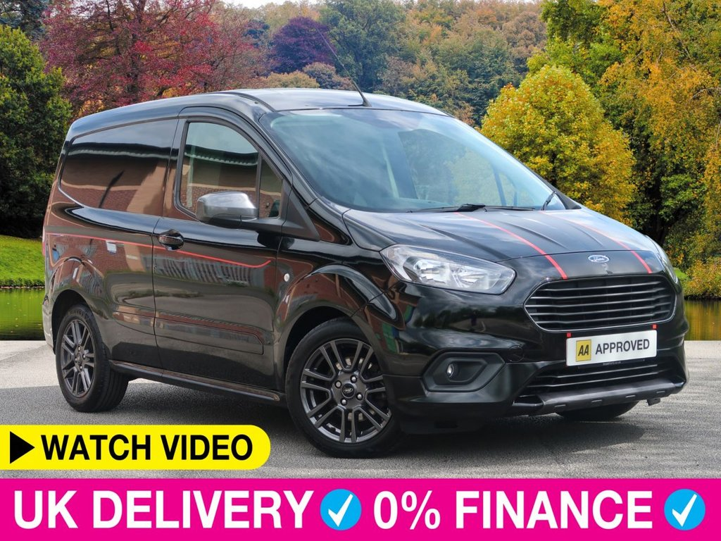 USED 2019 68 FORD TRANSIT COURIER 1.5 TDCi Sport Van 5dr Air Con Alloys Air con Alloys Bluetooth Ply