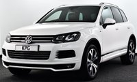 USED 2014 14 VOLKSWAGEN TOUAREG 3.0 TDI V6 BlueMotion Tech R-Line Tiptronic 4WD (s/s) 5dr £49k New, F/S/H, Pan Roof +