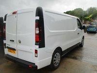 USED 2018 68 VAUXHALL VIVARO 1.6 L2H1 2900 SPORTIVE CDTI 5d 120 BHP 2018 vauxhall vivaro L2 H1 in glazier white very low miles