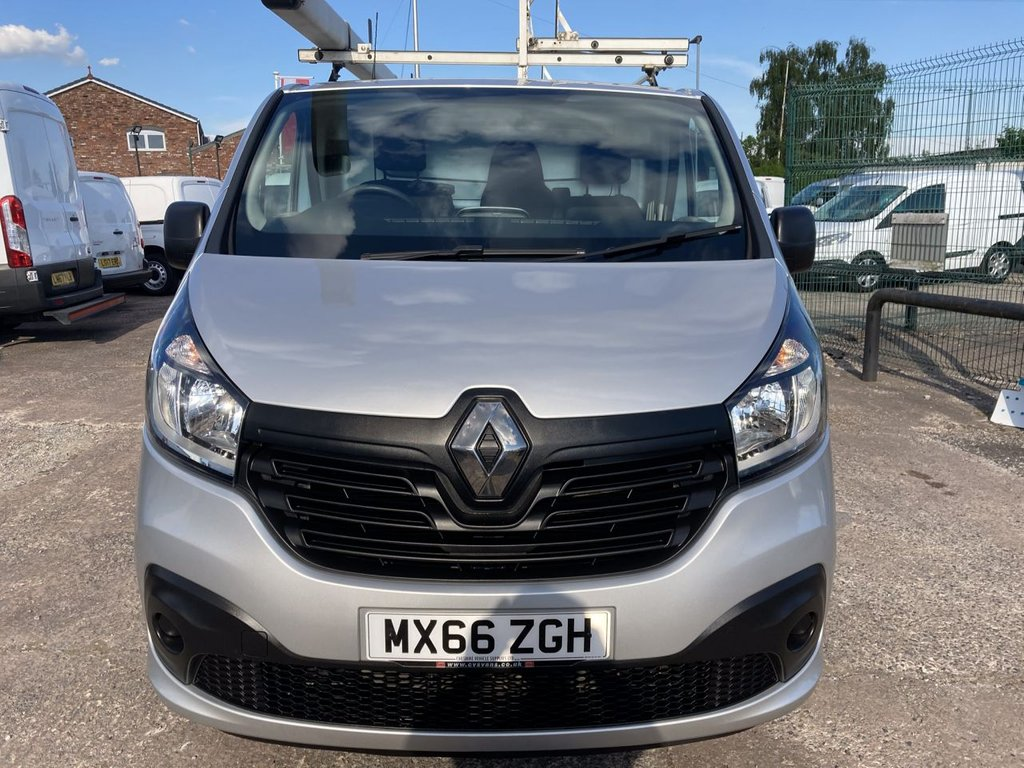 USED 2016 66 RENAULT TRAFIC 1.6 SL27 BUSINESS PLUS ENERGY DCI S/R 120 BHP 1 OWNER FSH NEW MOT AIR CON SAT NAV ROOF RACK RACKING FREE WARRANTY INCLUDING RECOVERY AND ASSIST NEW MOT AIR CONDITIONING SATELLITE NAVIGATION ROOF RACK RACKING