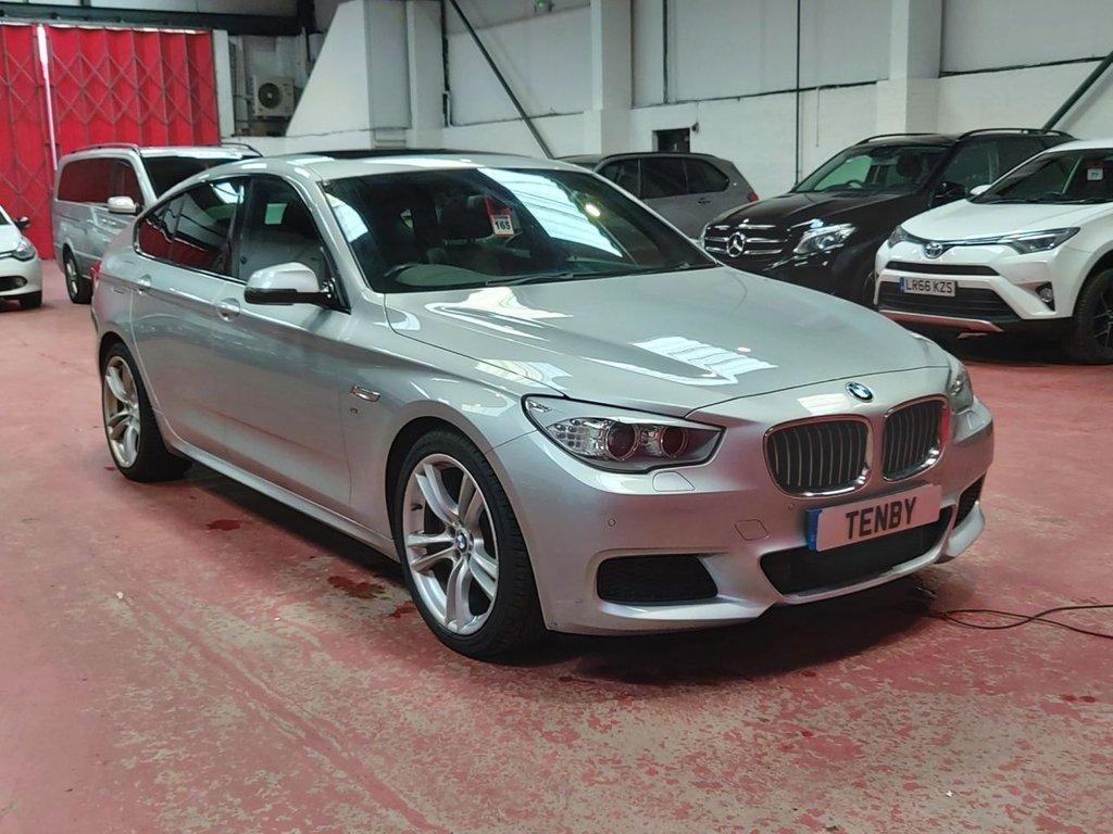 USED 2014 14 BMW 5 SERIES 2.0 520D M SPORT GRAN TURISMO 5d AUTO 181 BHP