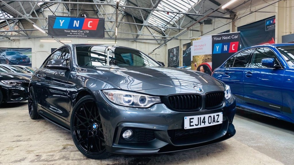 USED 2014 14 BMW 4 SERIES 2.0 420d M Sport Auto 2dr PERFORMANCEKIT+20S+REDLEATHER