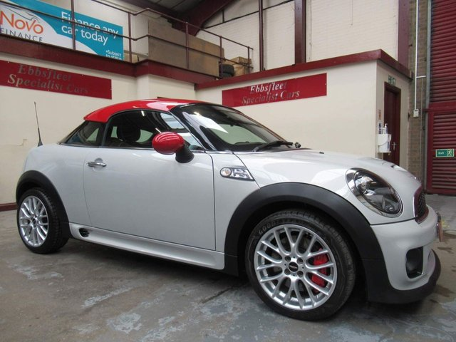 USED 2011 61 MINI COUPE 1.6 John Cooper Works 2dr ***52000 MILES S/HISTORY***