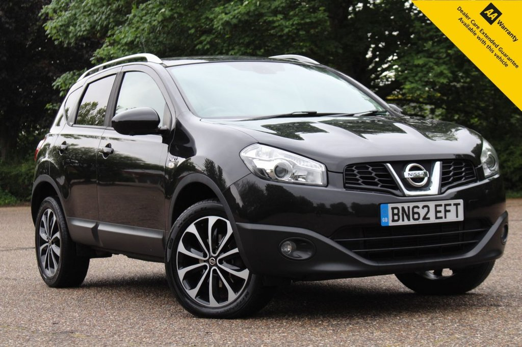 USED 2012 62 NISSAN QASHQAI 1.6 N-TEC PLUS IS DCIS/S 5d 130 BHP ** FRESHLY SERVICED + NEW ADVISORY FREE MOT ** PANORAMIC SUNROOF **  360 PARKING CAMERAS ** CRUISE CONTROL ** AIR CONDITIONING ** SAT NAV ** CLIMATE CONTROL ** AUTO LIGHTS + WIPERS ** POWER MIRRORS ** BLUETOOTH ** CLICK AND COLLECT + NATIONWIDE DELIVERY AVAILABLE ** BUY ONLINE IN CONFIDENCE FROM A MULTI AWARD WINNING 5* RATED DEALER **
