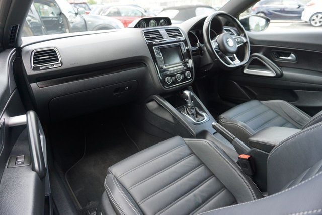 USED 2016 66 VOLKSWAGEN SCIROCCO 2.0 R LINE TSI BLUEMOTION TECHNOLOGY DSG 2d 178 BHP STUNNING EXAMPLE  JUST ARRIVED