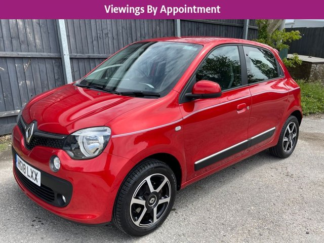 USED 2018 18 RENAULT TWINGO 1.0 DYNAMIQUE SCE S/S 5d 70 BHP 1 OWNER * VERY LOW MILEAGE FINANCE ME TODAY-FREE UK DELIVERY POSSIBLE