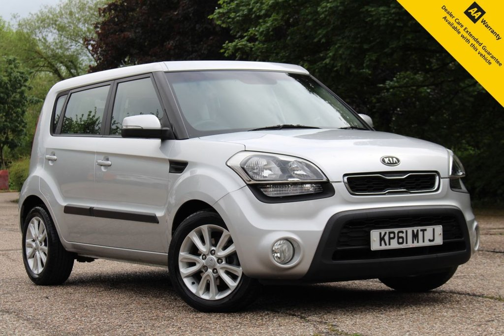 USED 2011 61 KIA SOUL 1.6 2 CRDI 5d 126 BHP ** SUPERB VALUE AUTOMATIC ** FULL KIA MAIN DEALER SERVICE HISTORY ** LONG ADVISORY FREE MOT - 19th JAN 2022 EXPIRY ** BLUETOOTH CONNECTIVITY WITH VOICE CONTROL ** ICE COLD AIR CONDITIONING ** POWER FOLDING MIRRORS ** USB + AUX ** BUY ONLINE IN CONFIDENCE FROM A MULTI AWARD WINNING 5* RATED DEALER ** NATIONWIDE DELIVERY AVAILABLE ** 14 DAY MONEY BACK GUARANTEE **