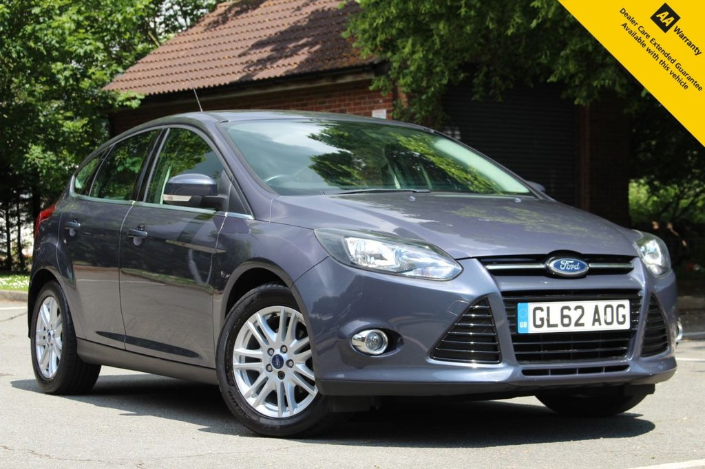 USED 2012 62 FORD FOCUS 1.6 TITANIUM 5d 124 BHP ** BRAND NEW MOT + SERVICE DONE JUNE 2021 ** DAB RADIO ** BLUETOOTH + VOICE CONTROL + USB ** CLIMATE CONTROL ** CRUISE CONTROL + LIMITER ** AUTO LIGHTS + WIPERS ** ULEZ CHARGE EXEMPT ** BUY ONLINE IN CONFIDENCE FROM A MULTI AWARD WINNING 5* RATED DEALER ** NATIONWIDE DELIVERY AVAILABLE ** 14 DAY MONEY BACK GUARANTEE **