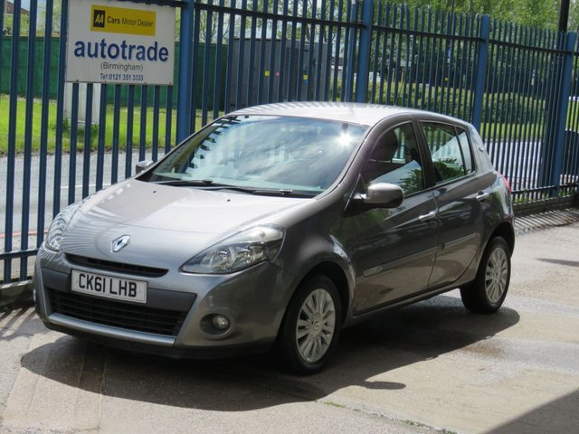USED 2011 61 RENAULT CLIO 1.1 I-MUSIC 5dr 75 1 Owner-Bluetooth-Air conditioning-Alloys-Fogs Finance arranged Part exchange available Open 7 days