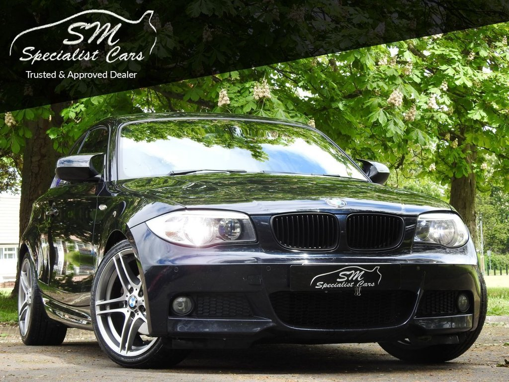 USED 2012 T BMW 1 SERIES 2.0 120D SPORT PLUS EDITION 2d 175 BHP ONLY 61K FSH HUGE SPEC A/C VGC