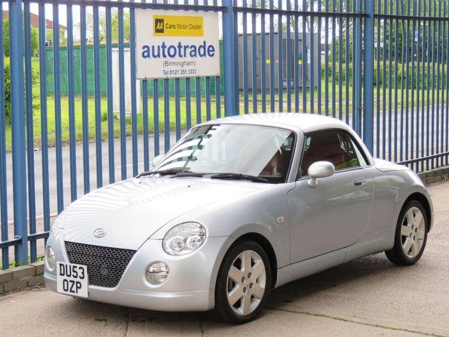 USED 2003 53 DAIHATSU COPEN 0.7 ROADSTER 2d 67 BHP The most extensive service history we have ever seen. Full Heated Leather, Air Con