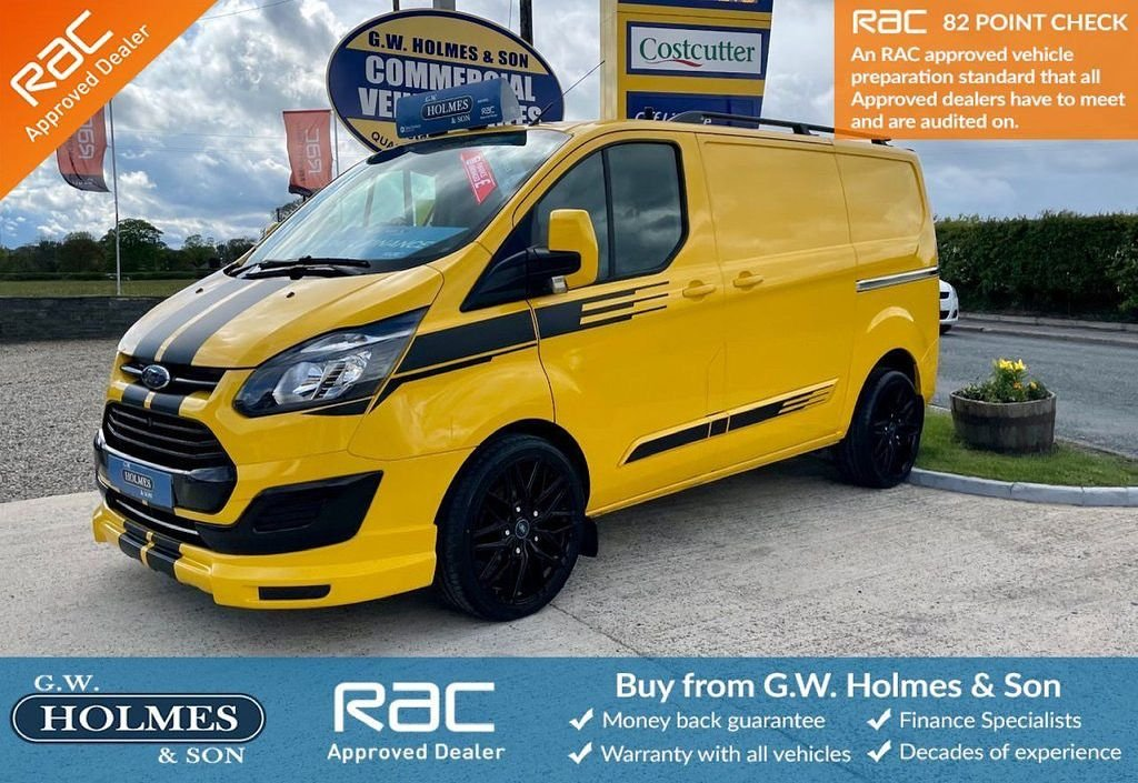 USED 2017 66 FORD TRANSIT CUSTOM 2.0 TDCI 340 130 BHP L1 H1 WITH TAILGATE **SPORTS PACK**CHOICE OF 4**