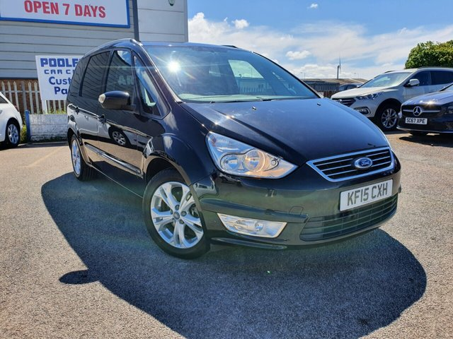 USED 2015 15 FORD GALAXY 2.0 ZETEC TDCI 5d 138 BHP 7 SEATS*BLUETOOTH*SERVICE HISTORY*AUX*VOICE CONTROL