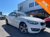 USED 2017 17 BMW 2 SERIES 1.5 218I SPORT 2d 134 BHP