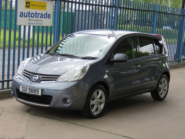 USED 2011 NISSAN NOTE 1.6 N-TEC 5dr 110 Sat nav-Bluetoth-Privacy glass-Alloys-Cruise Finance arranged Part exchange available Open 7 days