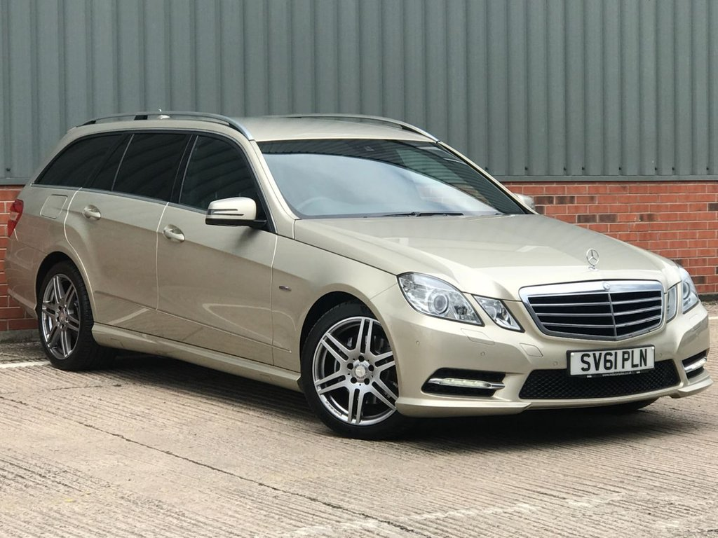 USED 2011 61 MERCEDES-BENZ E-CLASS 2.1 E250 CDI BLUEEFFICIENCY SPORT ED125 5d 204 BHP EXCELLENT CONDITION AND FANTASTIC VALUE