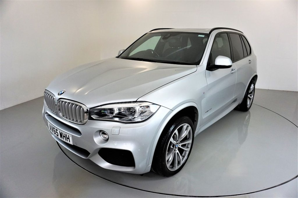 USED 2015 65 BMW X5 3.0 XDRIVE40D M SPORT 5d-2 OWNER CAR-7 SEATS-PANORAMIC SUNROOF-20