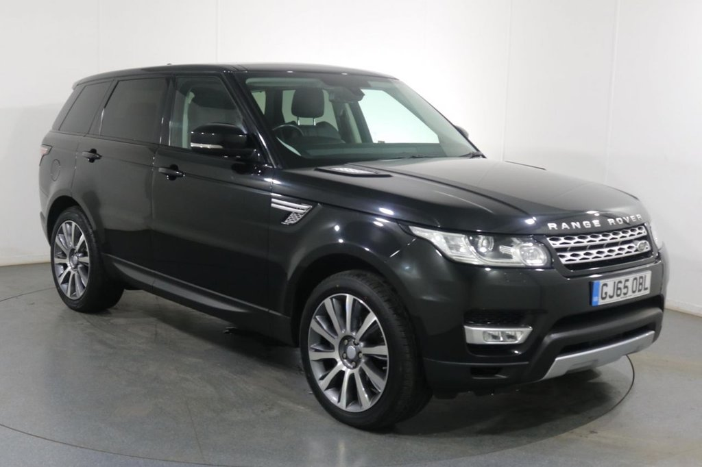 USED 2015 65 LAND ROVER RANGE ROVER SPORT 3.0 SDV6 HSE AUTOMATIC 5d 306 BHP