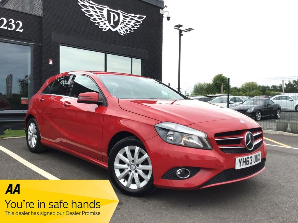 USED 2013 63 MERCEDES-BENZ A-CLASS 1.5 A180 CDI BLUEEFFICIENCY SE 5d 109 BHP NATIONWIDE DELIVERY AVAILABLE!
