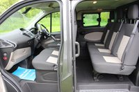 USED 2016 16 FORD TRANSIT CUSTOM 2.2 290 LIMITED LR DCB 124 BHP NO VAT LONG WHEEL BASE CREW CAB FULL FORD HISTORY BEAUTIFUL CONDITION