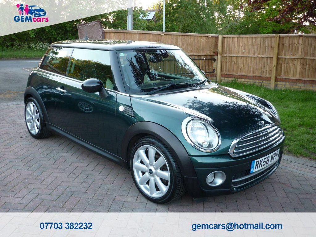 USED 2008 58 MINI HATCH COOPER 1.6 COOPER D 3d 108 BHP GO TO OUR WEBSITE TO WATCH A FULL WALKROUND VIDEO