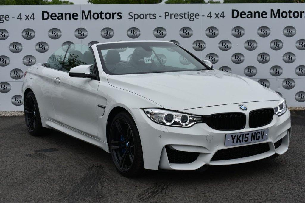 USED 2015 15 BMW M4 3.0 M4 2d 426 BHP