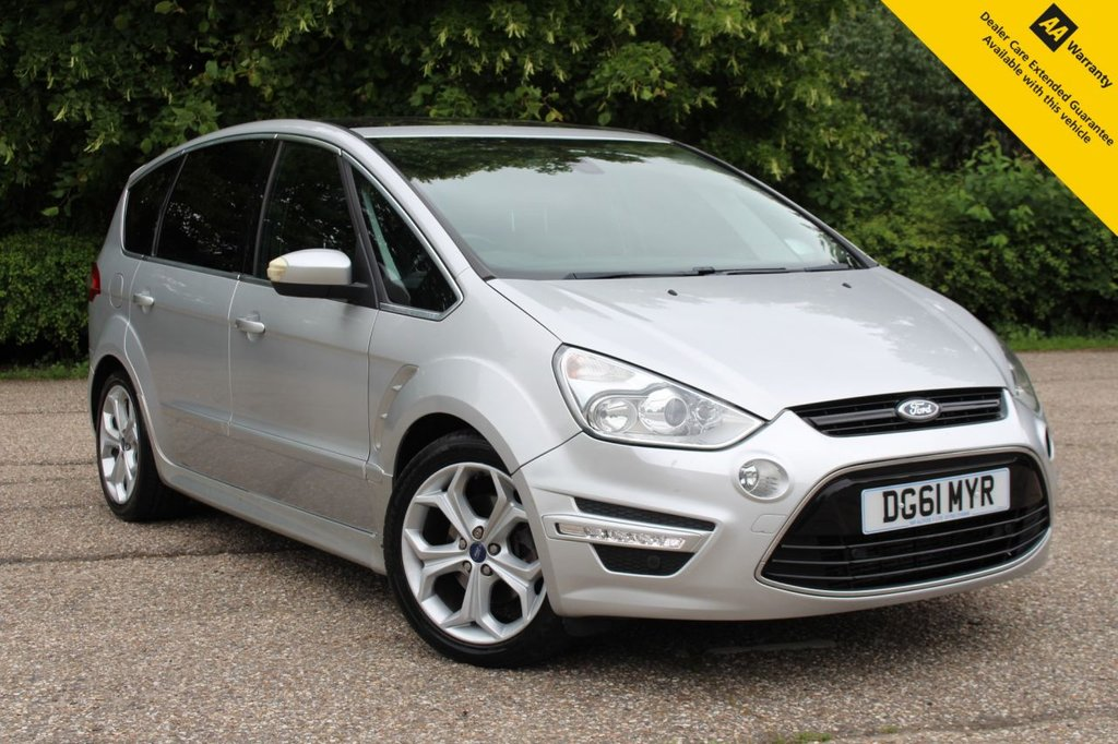 USED 2011 61 FORD S-MAX 2.2 TDCi 200 Titanium X Sport 5dr ** FULL SERVICE HISTORY ** CAM BELT + WATER PUMP DONE ** BRAND NEW ADVISORY FREE MOT ** FULL LEATHER / ALCANTARA INTERIOR ** FRONT AND REAR SENSORS ** CRUISE CONTROL ** CLIMATE CONTROL ** BLUETOOTH ** AUTO LIGHTS AND WIPERS ** PANORAMIC GLASS ROOF ** CATEGORY N CAR ** CLICK AND COLLECT + NATIONWIDE DELIVERY AVAILABLE ** BUY ONLINE IN CONFIDENCE FROM A MULTI AWARD WINNING 5* RATED DEALER **