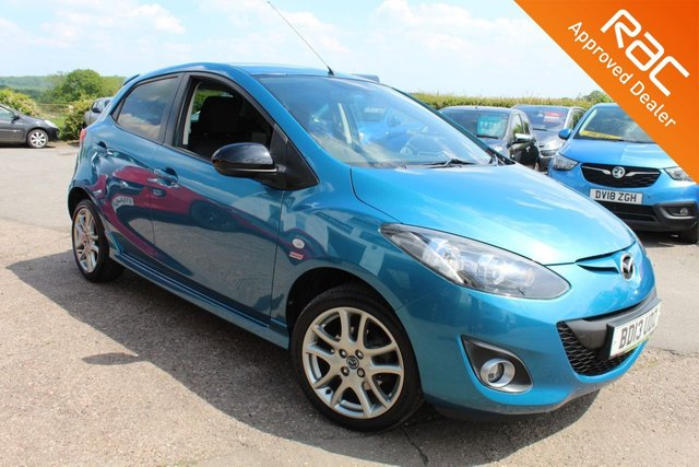 USED 2013 13 MAZDA 2 1.3 VENTURE EDITION 5d 83 BHP VIEW AND RESERVE ONLINE OR CALL 01527-853940 FOR MORE INFO.