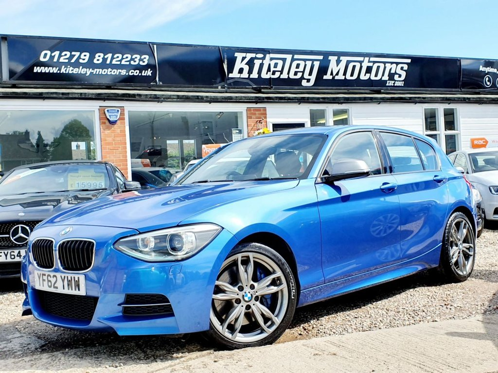 USED 2012 62 BMW 1 SERIES M135i ADAPTIVE M SPORT SUSPENSION