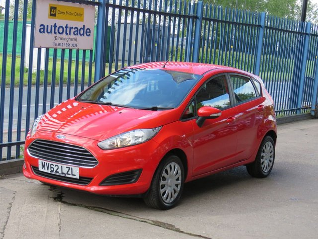 USED 2013 62 FORD FIESTA 1.2 STYLE 5dr 59 Air conditioning-Electric windows-CD player Finance arranged Part exchange available Open 7 days