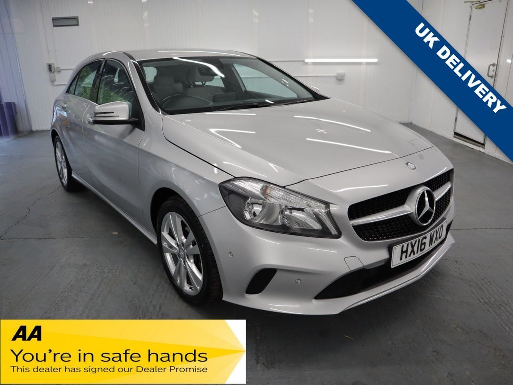 USED 2016 16 MERCEDES-BENZ A-CLASS 1.5 A 180 D SPORT EXECUTIVE 5d 107 BHP WITH METALLIC PAINT FINISH THIS MERCEDES IS STUNNING.