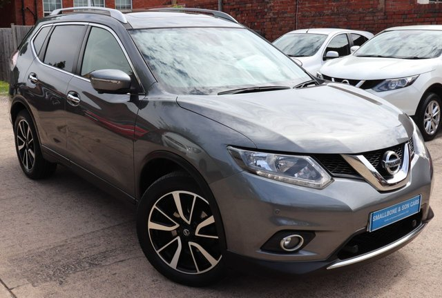 USED 2017 17 NISSAN X-TRAIL 1.6 N-VISION DCI XTRONIC 5d 130 BHP * BUY ONLINE * FREE NATIONWIDE DELIVERY *