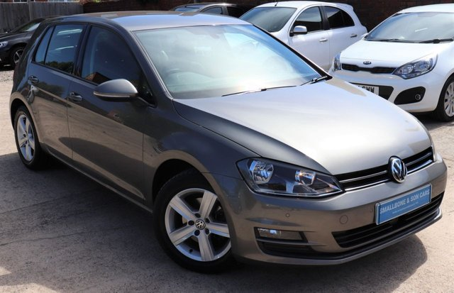 USED 2015 15 VOLKSWAGEN GOLF 1.4 MATCH TSI BLUEMOTION TECHNOLOGY 5d 120 BHP * BUY ONLINE * FREE NATIONWIDE DELIVERY *