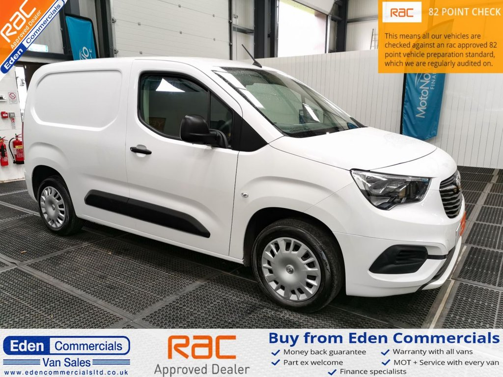 USED 2019 19 VAUXHALL COMBO VAN 1.6 L1H1 2000 SPORTIVE * AIR CON *