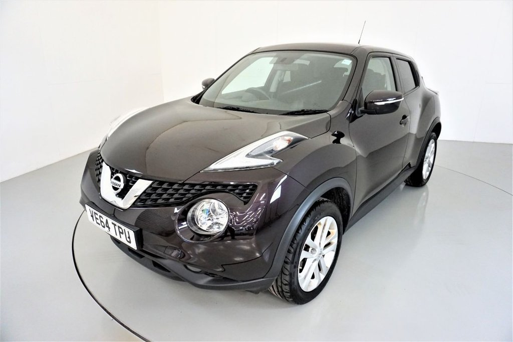USED 2014 64 NISSAN JUKE 1.5 ACENTA DCI 5d-2 FORMER KEEPERS-BLUETOOTH-CRUISE CONTROL-ALLOY WHEELS