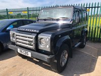 USED 2011 11 LAND ROVER DEFENDER 90 2.4 90 TD XS STATION WAGON 3d 4 Seat 4x4 SUV Utility Vehicle Stunning Condition with NO VAT TO PAY and Massive High Spec. Stunning in Sumatra Black