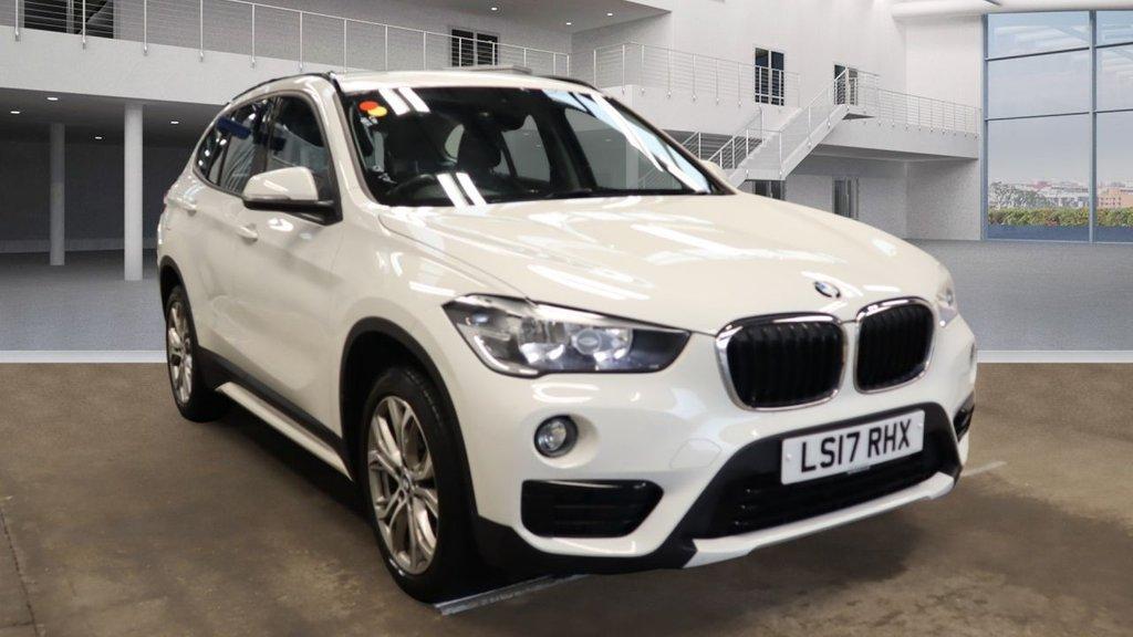 USED 2017 17 BMW X1 2.0 SDRIVE18D SPORT 5d 148 BHP +SPORTS SEATS +REVERSE CAMERA.
