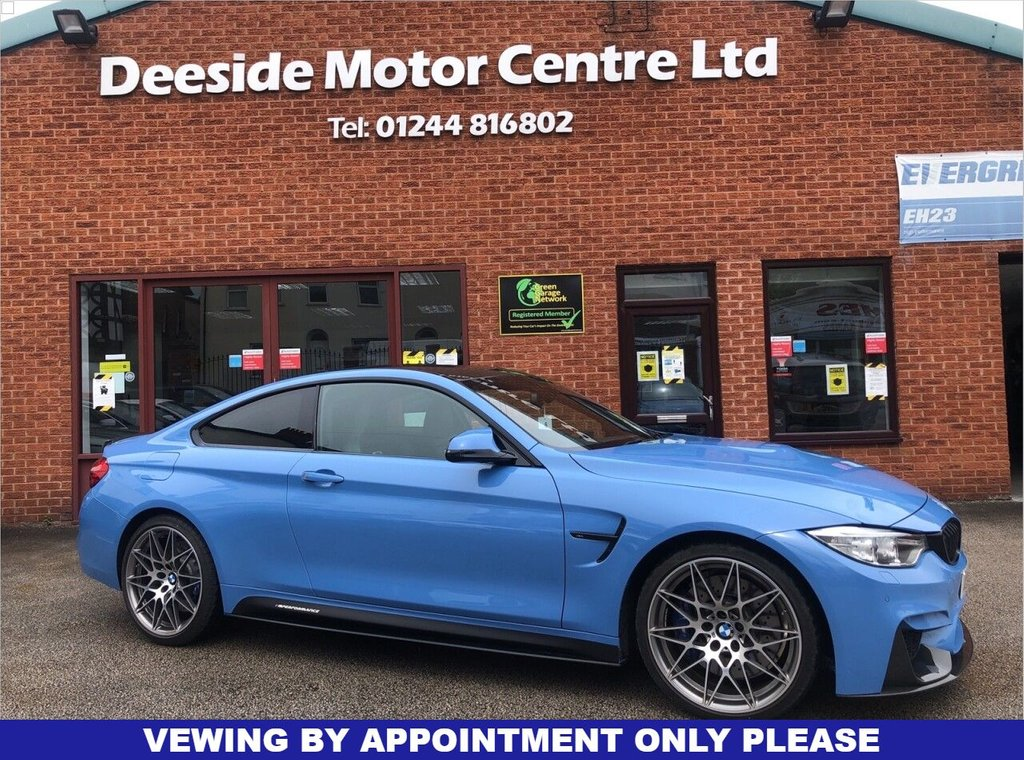 USED 2017 17 BMW M4 3.0 M4 COMPETITION PACKAGE 2d 444 BHP