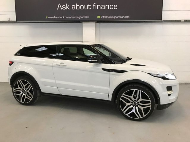 USED 2012 12 LAND ROVER RANGE ROVER EVOQUE 2.0 SI4 DYNAMIC LUX 3d 240 BHP ***Huge Spec***