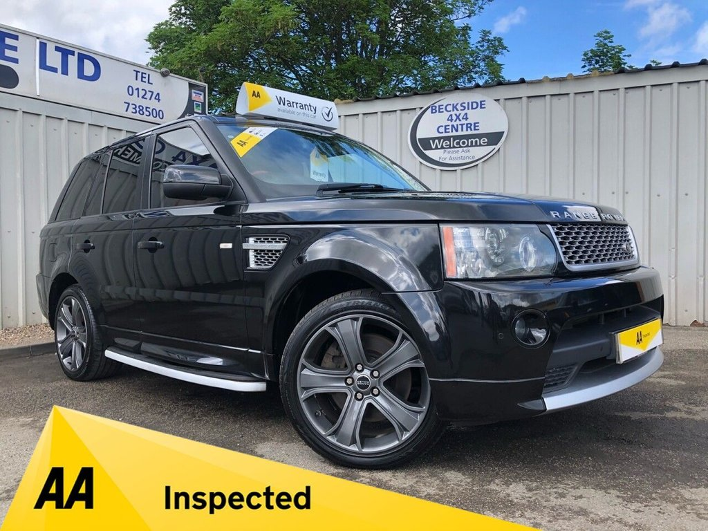 USED 2010 10 LAND ROVER RANGE ROVER SPORT 3.6 TDV8 AUTOBIOGRAPHY SPORT 5d 269 BHP AA INSPECTED. FINANCE. WARRANTY. HIGH SPEC. MANY EXTRAS