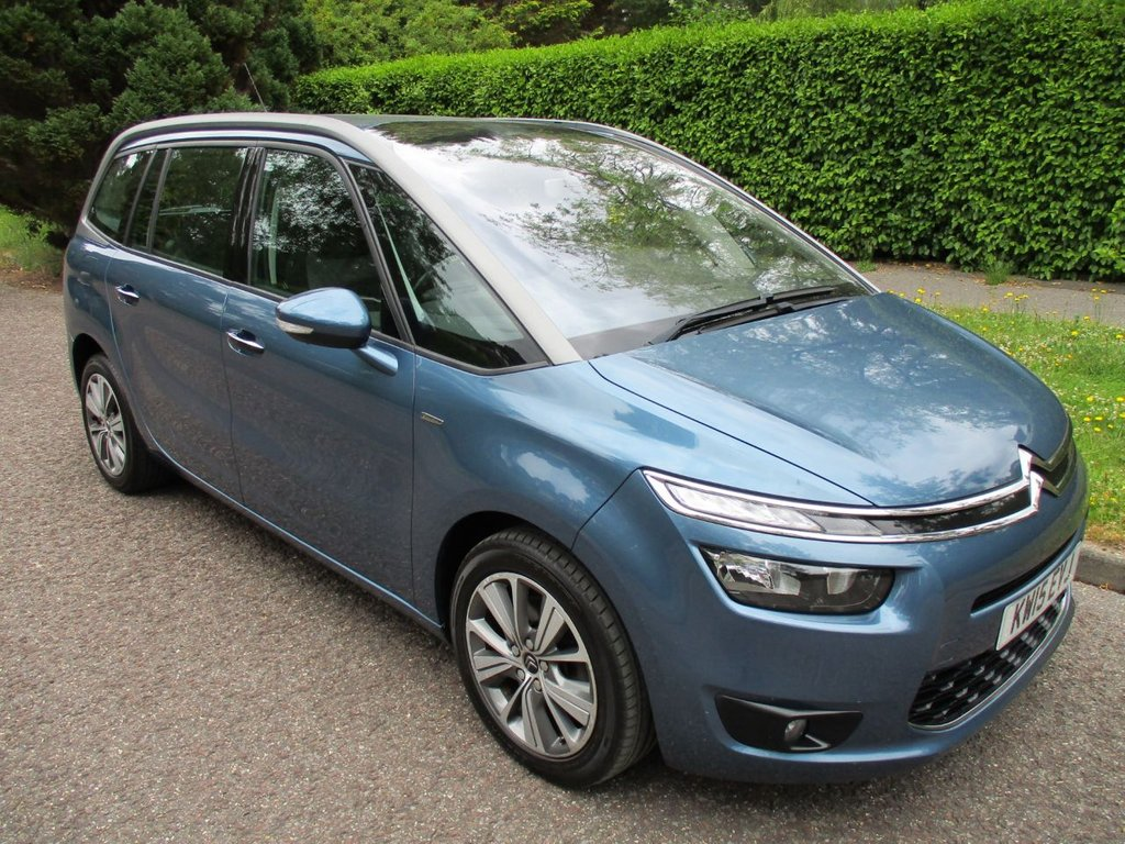 USED 2015 15 CITROEN C4 GRAND PICASSO 2.0 BLUEHDI EXCLUSIVE EAT6 5d 148 BHP HIGH SPEC 7 SEATER