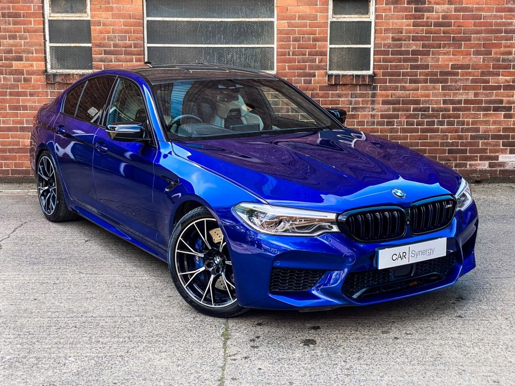 USED 2019 68 BMW M5 4.4 M5 COMPETITION 4d 617 BHP