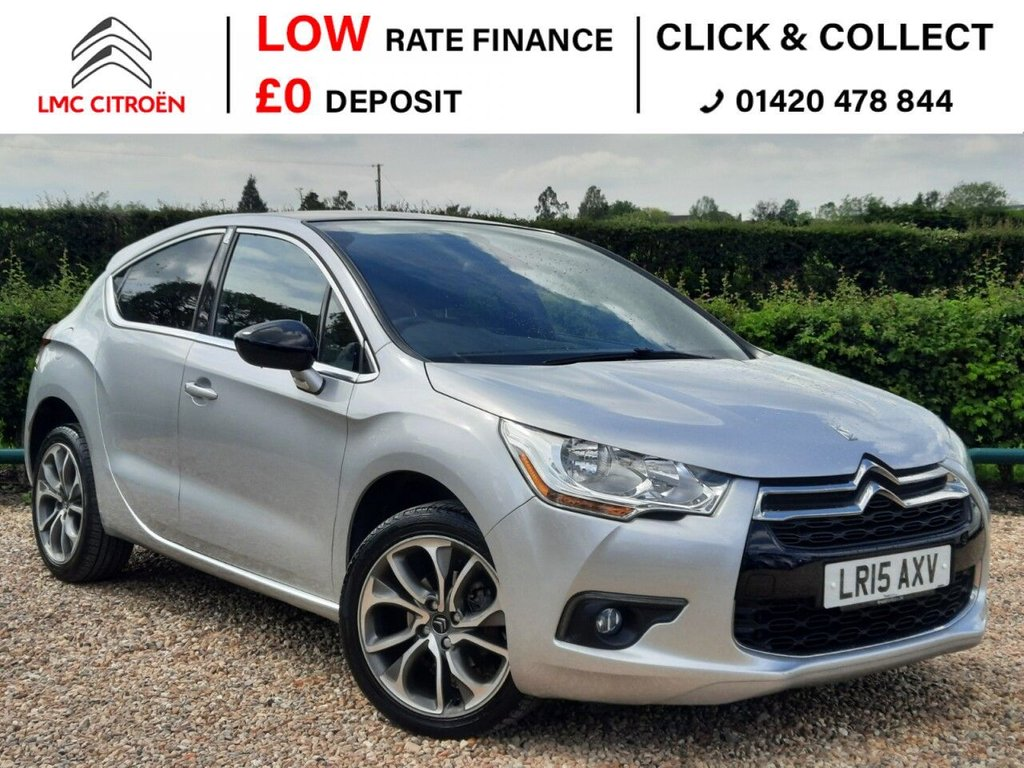 USED 2015 15 CITROEN DS4 1.6 E-HDI DSTYLE NAV 5d 115 BHP