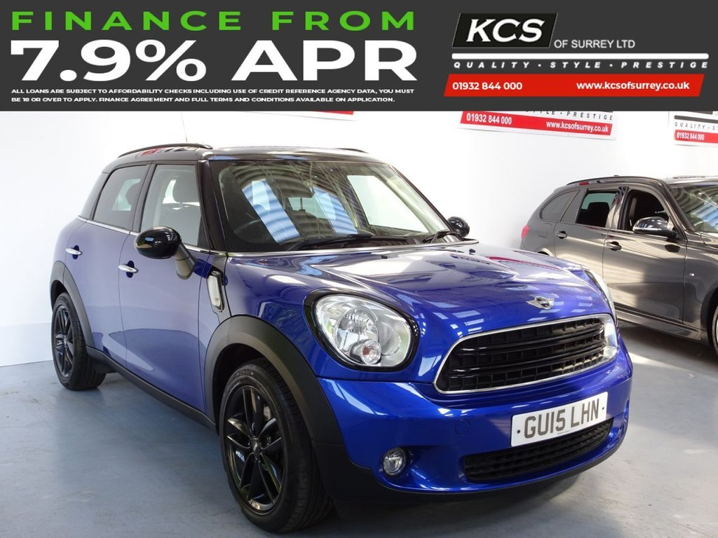 USED 2015 15 MINI COUNTRYMAN 1.6 COOPER D BUSINESS 5d 110 BHP CHILI - SAT NAV - HTD LEATHER
