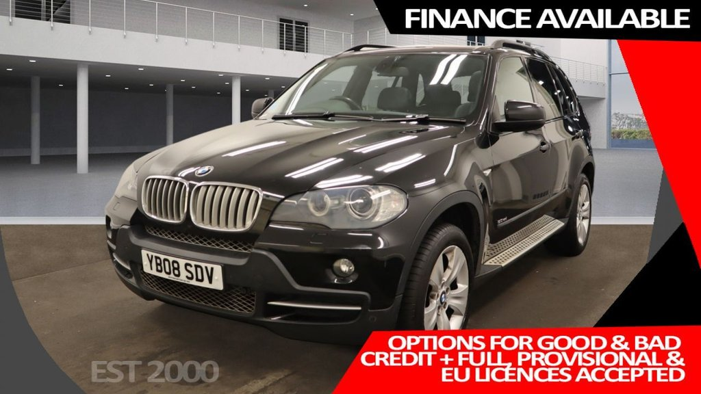 USED 2008 08 BMW X5 3.0 SD SE 5d 282 BHP * 7 SEATS * PAN ROOF * CLIMATE  CONTROL* PARKING SENSORS * 19 INCH ALLOY WHEELS *
