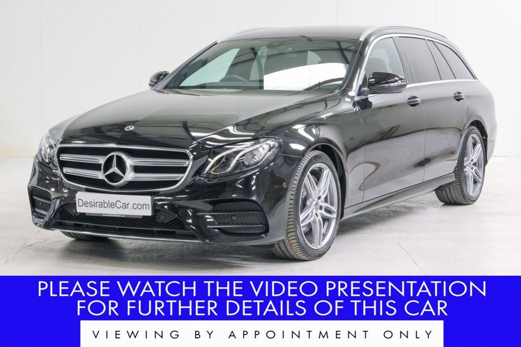 USED 2019 19 MERCEDES-BENZ E-CLASS 2.0 E220d AMG Line G-Tronic+ (s/s) 5dr VATQ*AMBIENT LIGHTING*REAR CAM