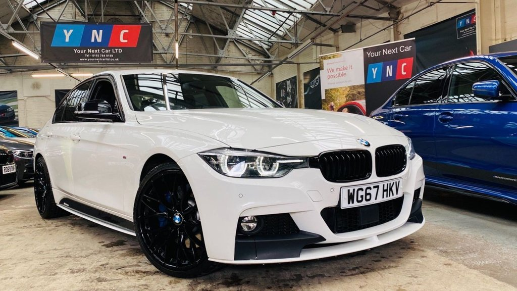 USED 2017 67 BMW 3 SERIES 3.0 340i M Sport Shadow Edition Auto (s/s) 4dr BMWMPERFORMANCEKIT+HUGESPECWOW