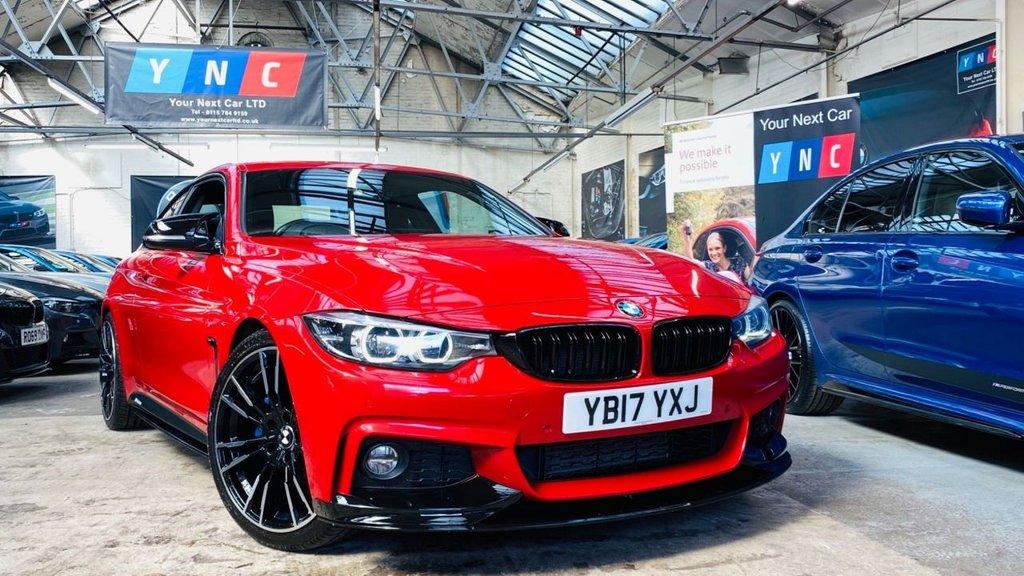 USED 2017 17 BMW 4 SERIES 2.0 420d M Sport Auto 2dr PERFORMANCEKIT+HUGESPEC+20S