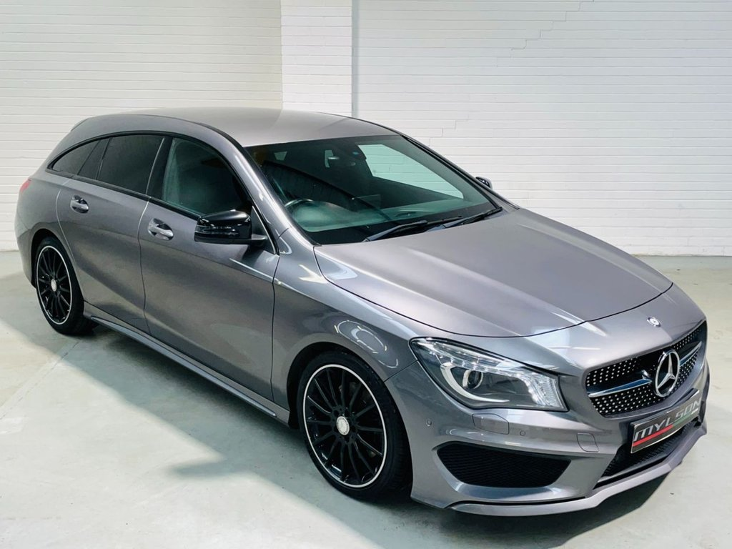 USED 2016 16 MERCEDES-BENZ CLA 2.1 CLA 220 D AMG LINE 5d 174 BHP AMG Pack Night Pack Tints Low Tax AA Inspected FINANCE
