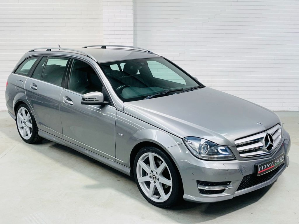 USED 2012 12 MERCEDES-BENZ C-CLASS 2.1 C220 CDI BLUEEFFICIENCY SPORT 5d 168 BHP AMG Pack Xenons Bluetooth AA Inspected Warranty FINANCE
